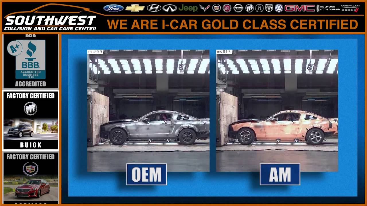 Ford oem structural parts vs aftermarket