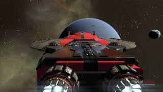 X4: Foundations 2.0 - Poseidon Freedom Carrier - Battleship mod