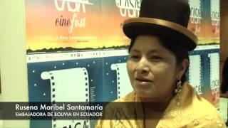 Embajada de Bolivia en Ecuador en Festival de Cine