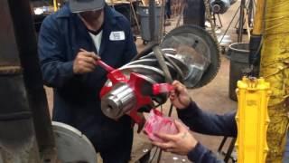 видео Купить запчасти для ремонта винтовых компрессоров