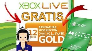 COMO TER XBOX LIVE GOLD GRÁTIS 2018 (FUNCIONANDO)