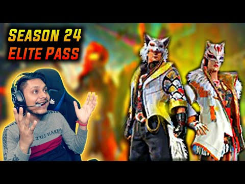 Update - Upcoming Season 24 Elite Pass Items Exclusive First Look - Garena Free Fire - 동영상