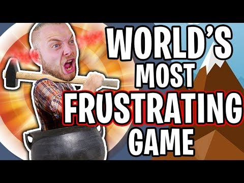 I'M SO ANGRY!!! (rage quit) - GETTING OVER IT!!