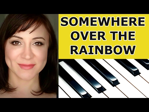 Somewhere Over The Rainbow Piano Tutorial/Sheet Music