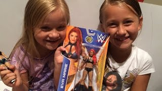 THE LITTLE GRIMMETTES SHOW: Eva Marie B43 Mattel WWE Wrestling Action Figure