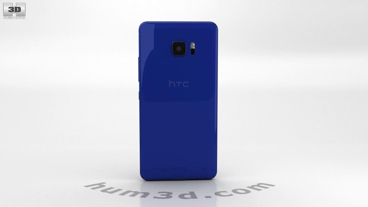 HTC U Ultra Sapphire Blue 3D model by Hum3D.com - YouTube