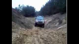 Off Road 2014  - Ostrożanka ( Opel Frontera i Nissan Terrano)