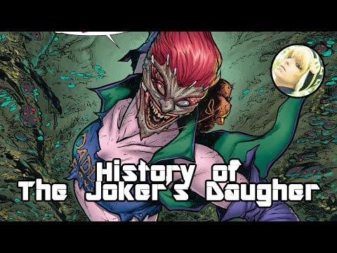 History of The Joker's Daughter