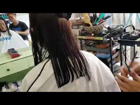 구자현 long hair 층단발  #358