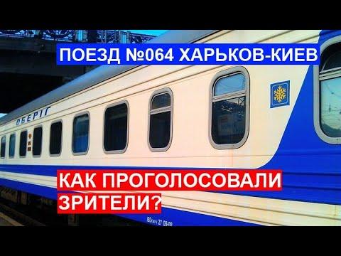Поезд 064 Харьков-Киев. Как проголосовали зрители?