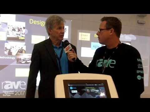 ISE 2017: Gary Kayye Receives A Stand Tour Highlighting Nureva Span System and HDL300 Audio System