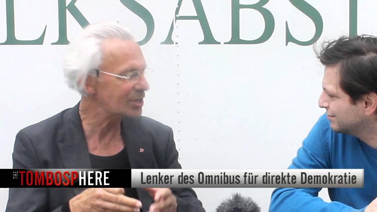 Werner Küppers - Omnibus für direkte Demokratie (Interview)