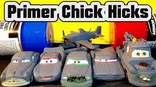Pixar Cars Primer Chick Hicks with Lightning McQueen Mater and Dusty from Disney