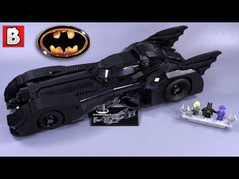 LEGO 1989 Batmobile  Set 76139 Review!