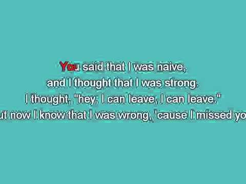 Lisa Loeb   Stay [Karaoke]
