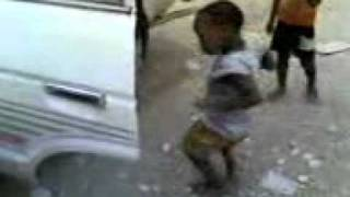 African baby dance