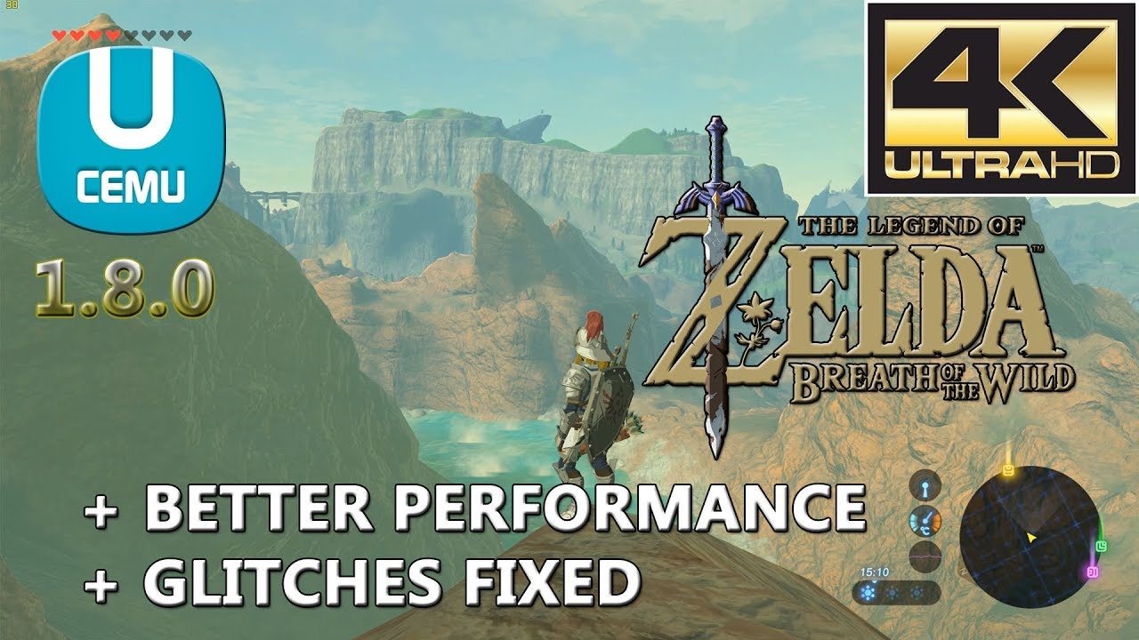 Zelda Breath of the Wild Runs Extremely Smooth on PC With Latest