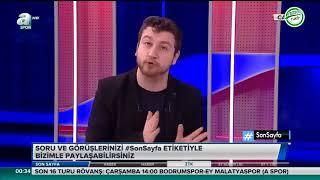 Son Sayfa 23 Ocak 2019 TEK PARÇA Uğur Karakullukçu'nun Galatasaray,Fenerbahçe,Beşiktaş Yorumları