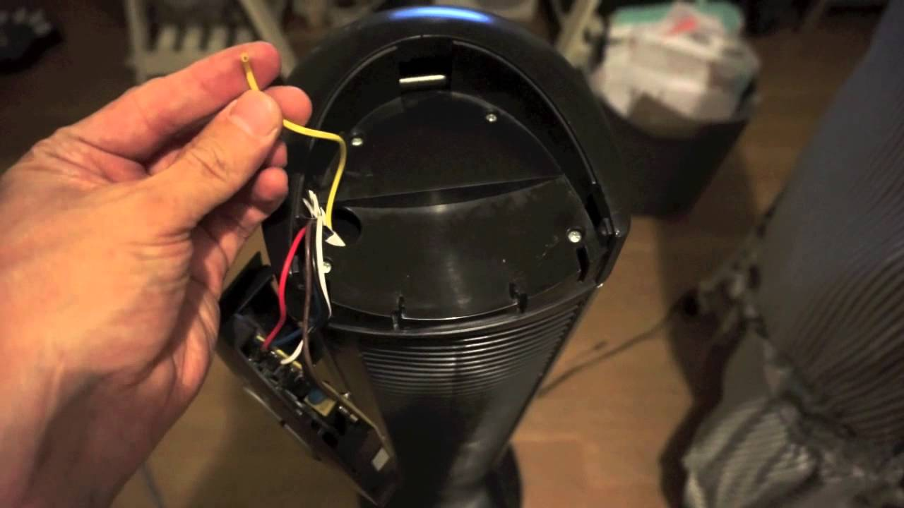 Seville Classic Fan Teardown for Cleaning  YouTube
