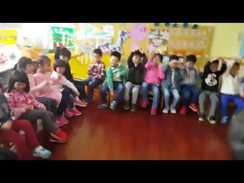 "Teaching ""Going On A Bear Hunt"" In China"