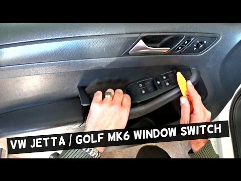 VW JETTA MK6 MASTER WINDOW SWITCH REPLACEMENT DRIVER SIDE VW GOLF MK6