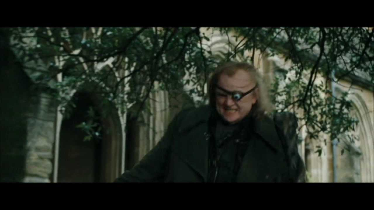 Harry Potter and the Goblet of Fire - Alastor Moody v s  Draco Malfoy (HD)