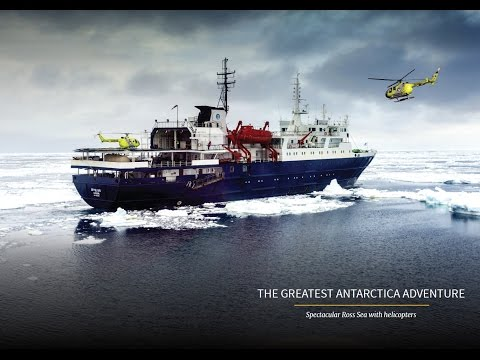 The Greatest Antarctic Adventure! Spectacular Ross Sea with helicopters!