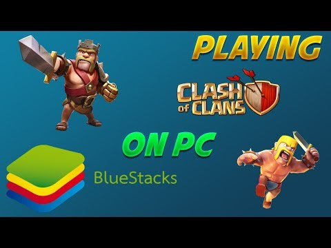 How to Play Clash of Clans on PC!!! | Bluestacks 3 Android Emulator