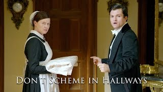 Don't Scheme In Hallways ('The Britishes') | College Humor Clip