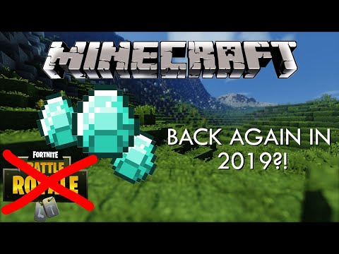 How MINECRAFT Is COMING BACK In 2019