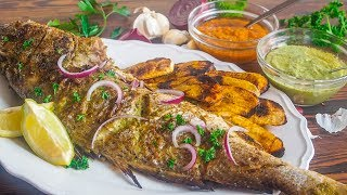 SUPA COOKING CLASS I EP. 4 I CAMEROONIAN ROASTED FISH