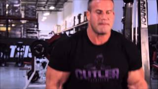 How to Build Big Arms   Training with 4x Mr  Olympia Jay Cutler and Pro Bodybuilder Marc Lobliner