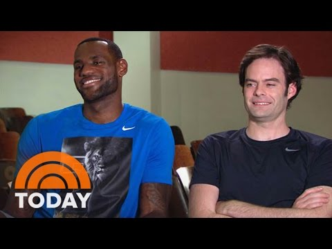 LeBron James On Giving Comedy A Shot With Bill Hader | TODAY
