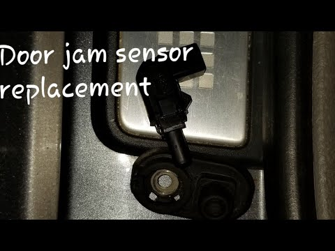HOW TO FIX INTERIOR LIGHTS THAT DONT SHUT OFF WHEN DOOR IS CLOSED ACURA HONDA DOOR JAMB SENSOR