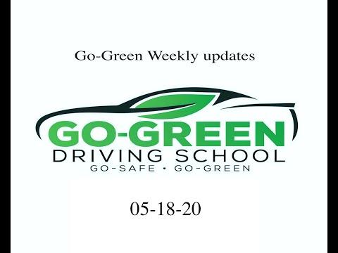 Go-Green Driving School Updates 05-18-20