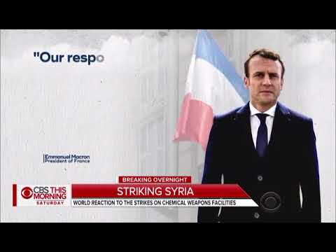 US, UK and France take part in Syria Strike (Breaking news)