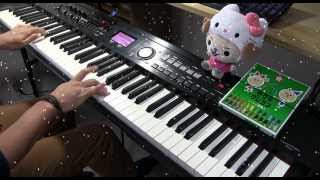 【ピアノ】 上原ひろみ ジングルベル 【弾いてみた】