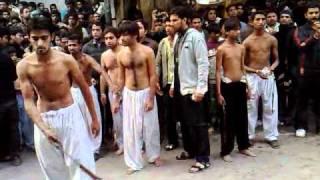 10 muharram zanjeer zani in islampura