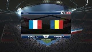 Pes 2016-Francia Vs Romania  Europei 2016 Francia ITA HD