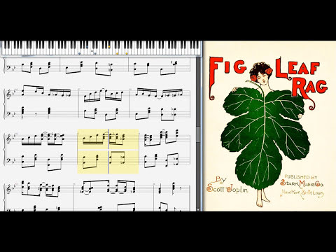 Fig Leaf Rag High Class  Scott Joplin, 1908