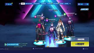 FORTNITE CLAN TRYOUTS AND ARENA GRIND 350 SUB GRIND GIVE AWAY!!!