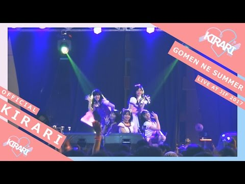 Kirari - Gomen Ne Summer (SKE48) Live at Jakarta Idol Festival 2017