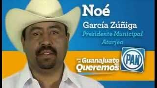 Noe Garcia Candidato a Presidente Municipal Atarjea