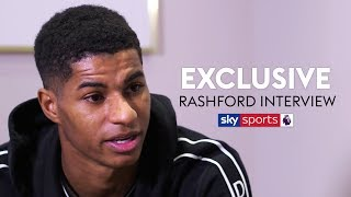 EXCLUSIVE! Marcus Rashford on his upbringing, his aim to tackle homelessness & all things Man United