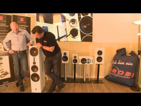 Vorstellung der DALI Opticon Lautsprecherserie - Interview mit Frank Hagemann von DALI Deutschland