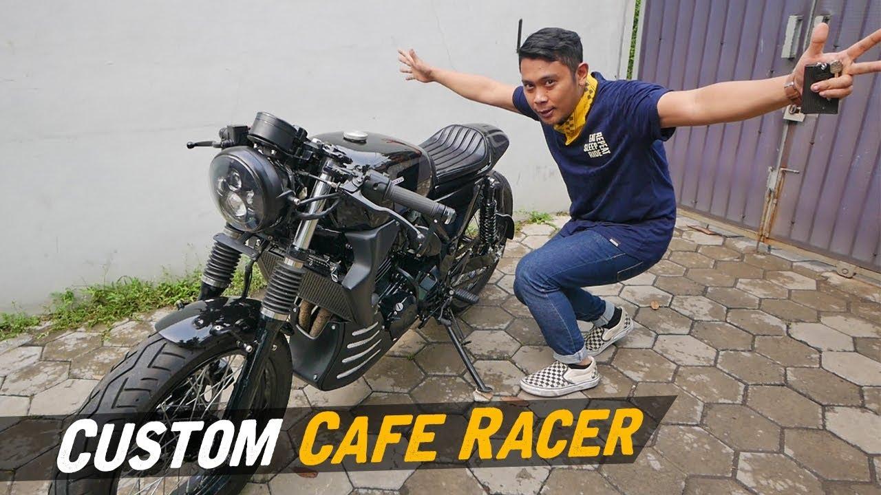 Custom Ninja 250 Cafe Racer #AtenxKatros