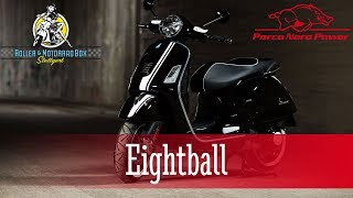 Eightball - Vespa GTS 300 Custom Umbau - Roller & MotorradBox Stuttgart