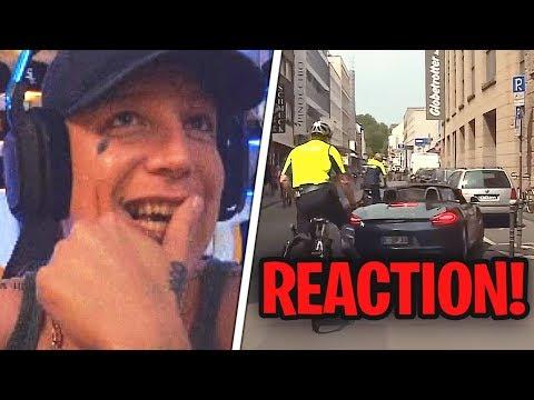 Reaktion auf die Fahrrad Cops 😂 unprofessionelles Verhalten von der Polizei? 😕 MontanaBlack Reaktion