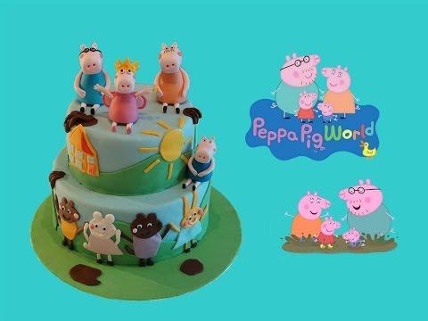 gâteau-peppa-pig---peppa-pig-cake-|-cake-design