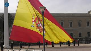 21/02/17 Hoisting of the National Flag at Colón Square